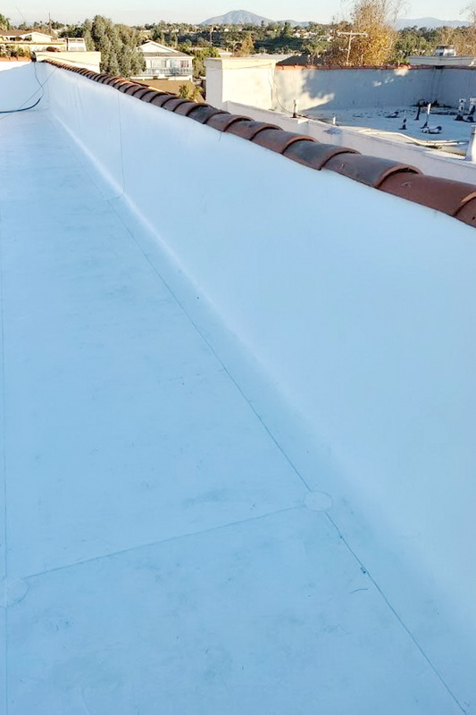 Commercial PVC Roofing In Southern California / Dunlap Roofing Company