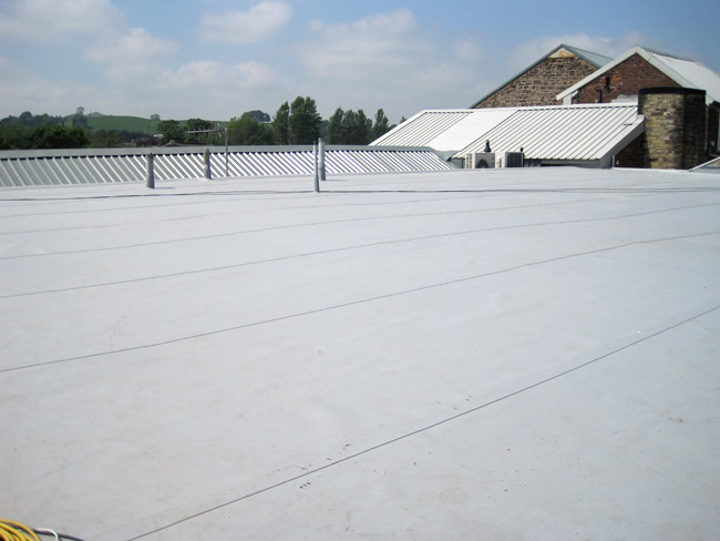 Commercial Single-Ply Roofing in Southern California / Dunlap Roofing Company